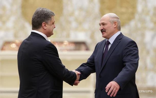 Порошенко извинился перед Лукашенко за Белавиа