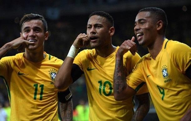 Квалификация ЧМ. Бразилия громит Аргентину, погромы от Перу и Венесуэлы