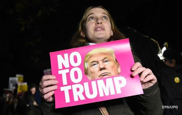 Миллионы американцев подписали петицию против избрания Трампа президентом