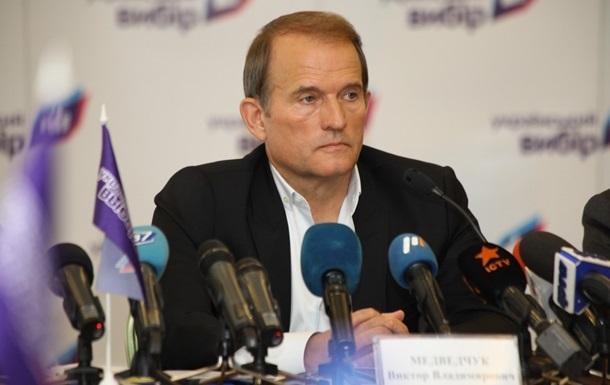 Медведчук обсудил с послом Великобритании ситуацию на Донбассе