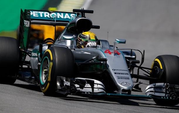 Формула-1. Гран-при Бразилии. Хэмилтон — лидер первой тренировки