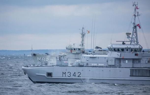 В Эстонию прибыли восемь минных тральщиков НАТО