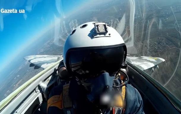В сети показали полет из кабины украинского МиГ-29