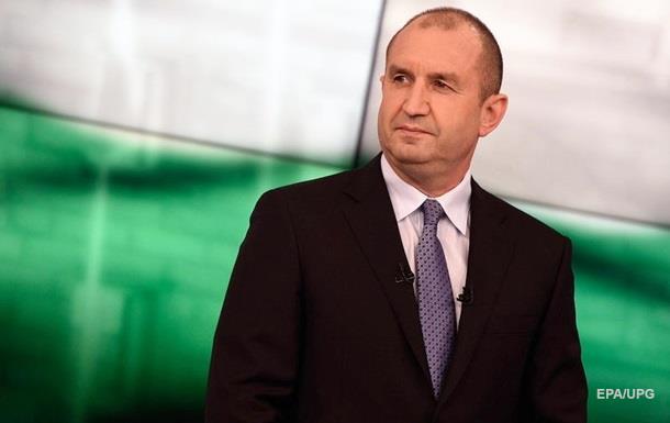 Новый президент Болгарии за отмену санкций против РФ