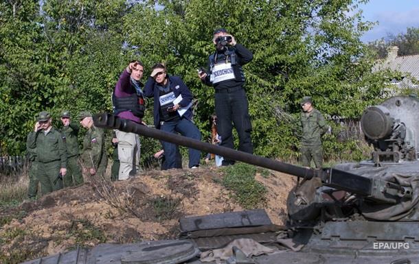 ОБСЕ на Донбассе угрожали снайперами