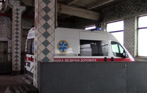 В Торецке выкрали четыре  скорых  Порошенко
