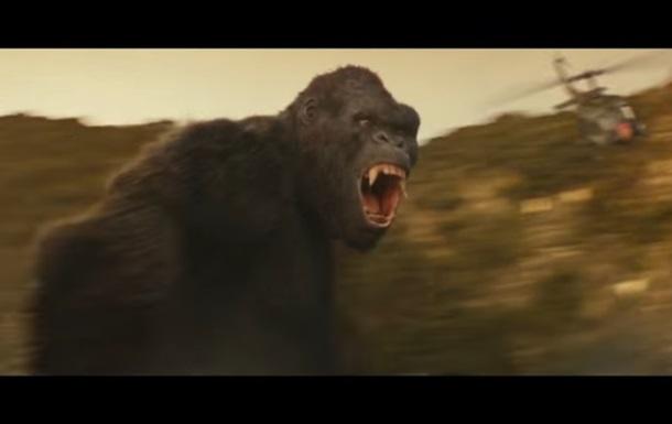 Винтернете появился трейлер нового фильма оКинг-Конге