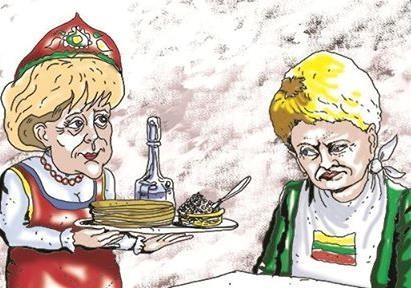 Немецкие солдаты будут защищать антироссийскую паранойю  Балтийских стран.