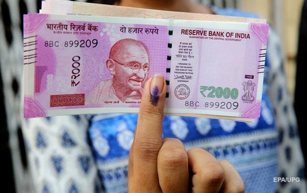 В Индии обмен валюты ограничили 30 долларами