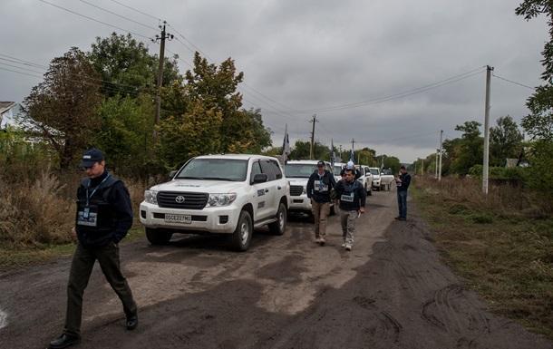 ОБСЕ насчитала 3444 взрыва на Донбассе за неделю