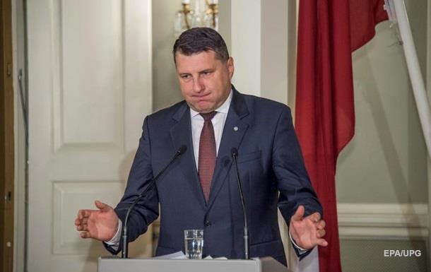 Президент Латвии признал, что у страны нет экономики
