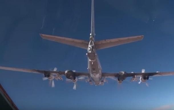 Россия показала удар крылатыми ракетами в Сирии
