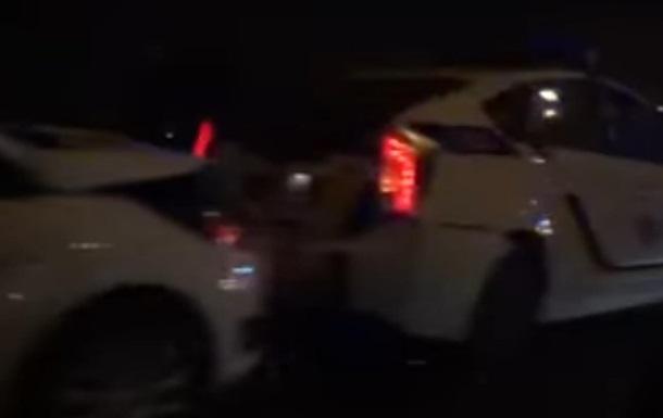 В Харькове произошло масштабное ДТП с участием копов
