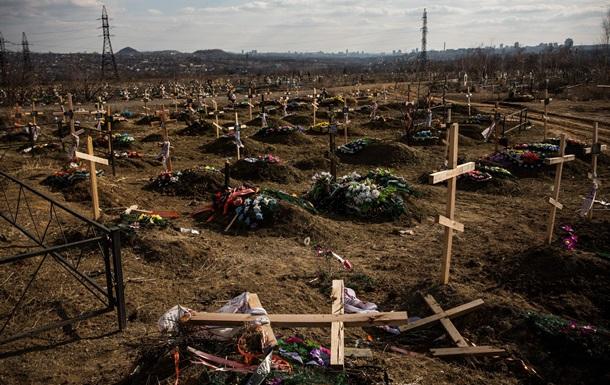Через ДНК опознали 450 погибших в АТО