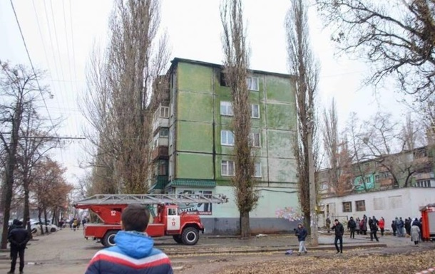 В Кривом Роге взрыв в доме, есть пострадавшие
