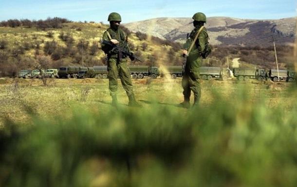 Россия попросила встречи с крымскими военными