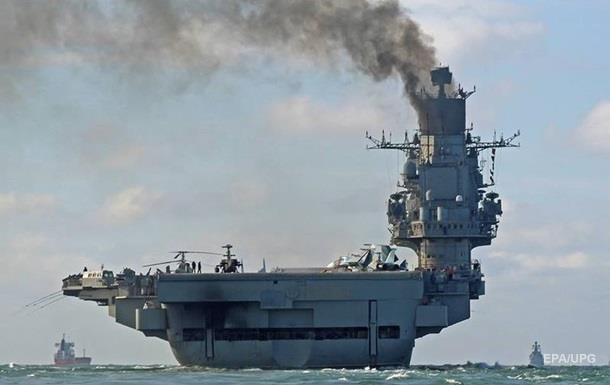 МиГ-29 утонул в море из-за поломки на Адмирале Кузнецове – СМИ