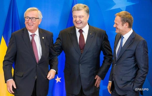 Порошенко рассчитывает, что ассоциацияЕС с Украинским государством заработает пополной 15