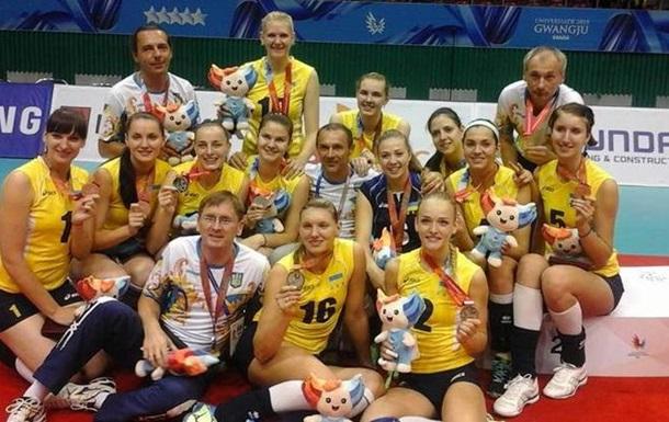 Женская сборная Украины по волейболу узнала соперников по Евро-2017