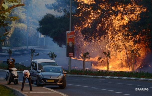 Пожар в Хайфе локализировали