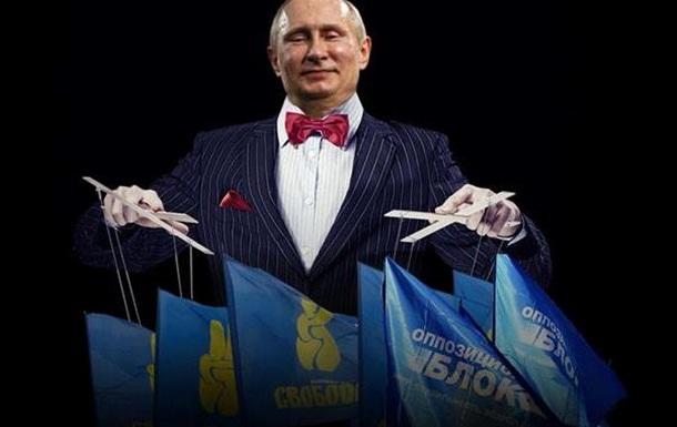 Кукловод и марионетки - кому выгодно разделить Украину по языковому принципу?