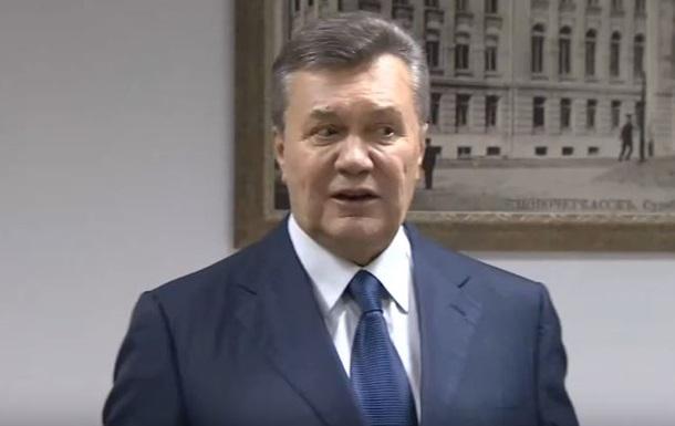 Янукович увидел руку Авакова в срыве своего допроса