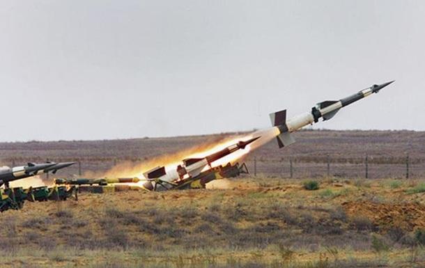 Ракетные стрельбы над Крымом
