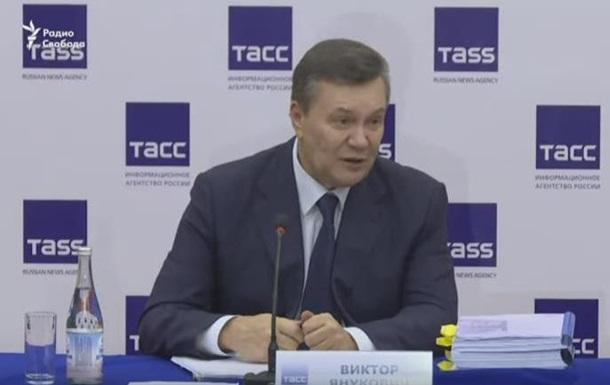 Янукович нахамил украинской журналистке
