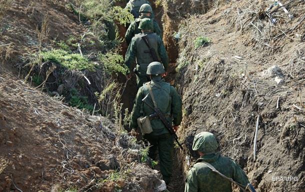 В зоне АТО ранены пять украинских военных
