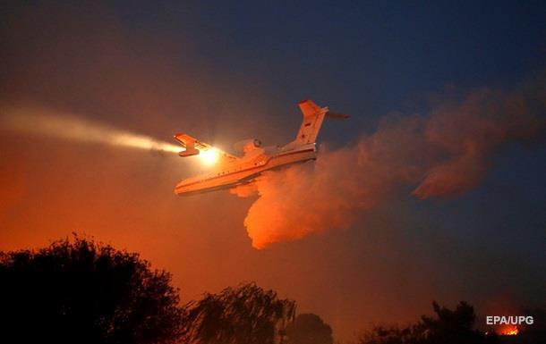 Самолеты Украины начали тушить пожары в Израиле