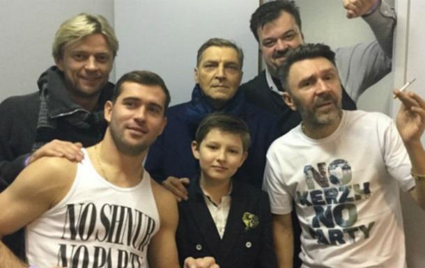 Тимощук  затусил  на концерте группы Ленинград в Питере