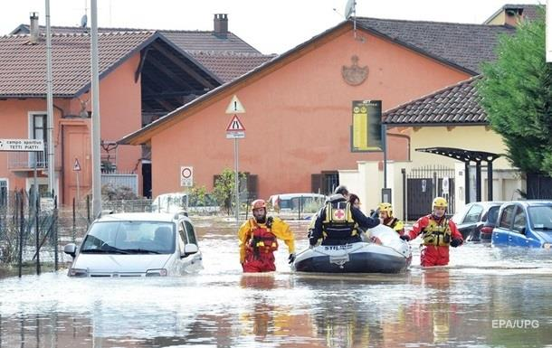 Ливни в Италии привели к гибели двух человек