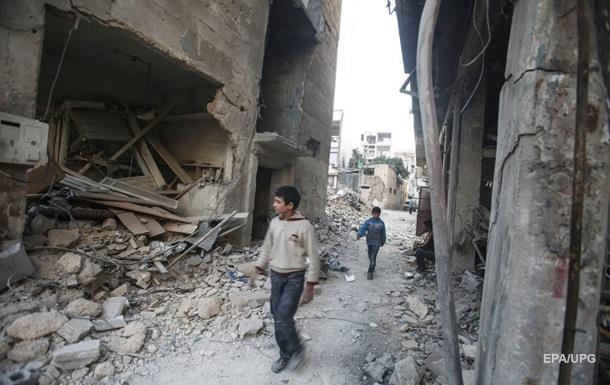 В Сирии 500 тысяч детей живут в условиях блокады