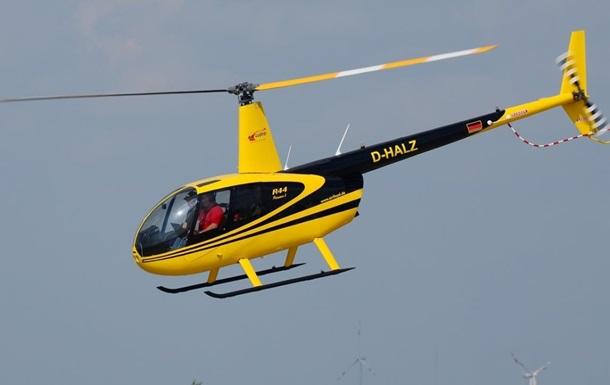 Крушение вертолета в Крыму: есть жертвы
