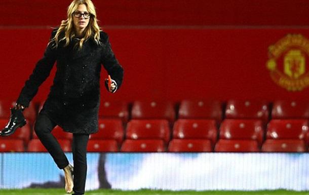 Джулия Робертс с тремя детьми пришла поболеть за Манчестер Юнайтед