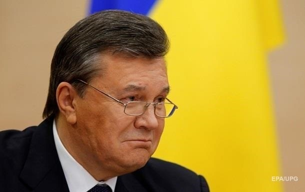 ГПУ: Янукович на допросе говорит неправду