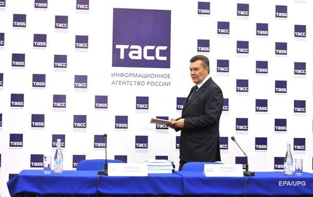Янукович объяснился перед украинской журналисткой