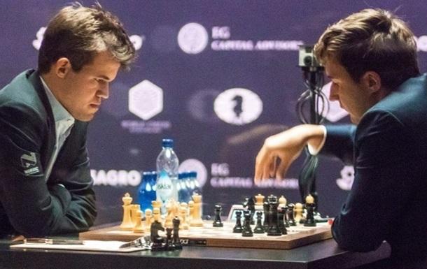 Карякин и Карлсен свели в ничью 12-ю партию