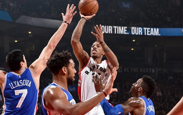 НБА. Уверенные победы Оклахомы и Торонто, поражения Майами и Мемфиса