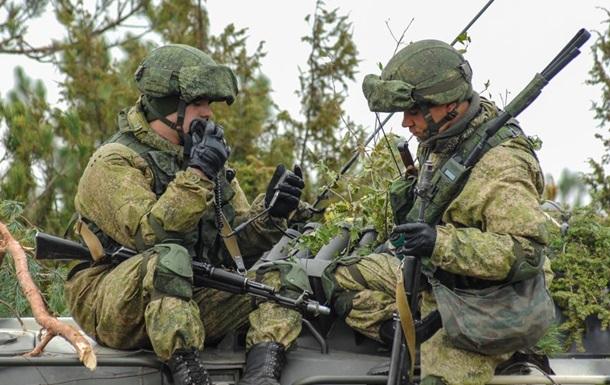 РФ сформировала две дивизии на границе с Украиной