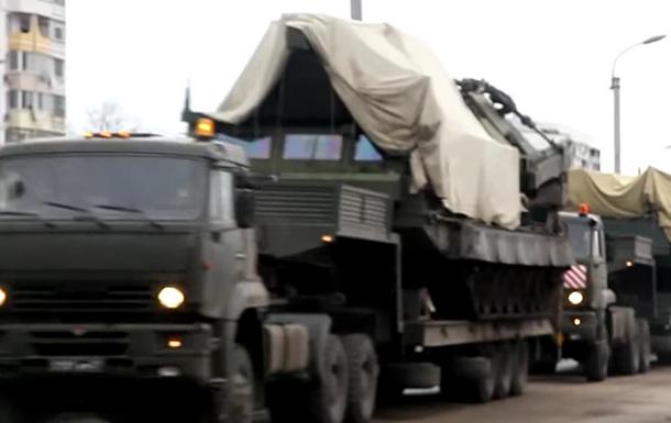 РФ перебросила в Крым ракетный комплекс