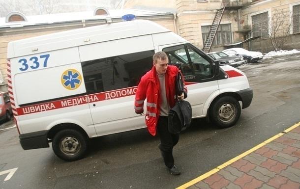 На Донетчине мужчина выпрыгнул с четвертого этажа полицейского участка