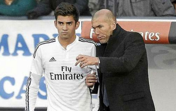 Сын Зидана забил через 18 минут после дебюта за Реал