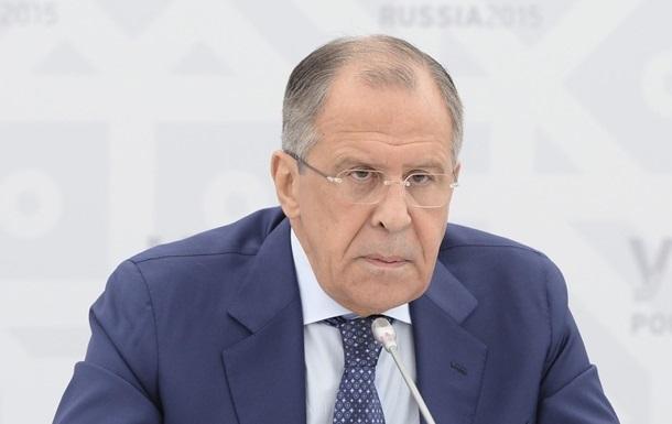 Тяжелого вооружения РФ на Донбассе нет – Лавров