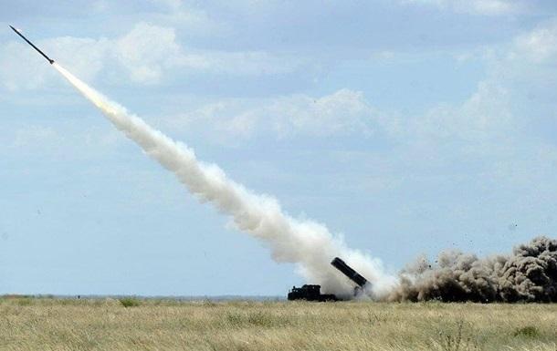 Украина начала ракетные учения в районе Крыма