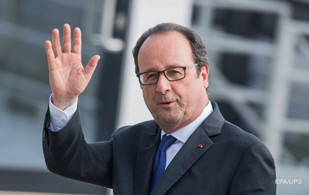 Олланд отказался баллотироваться на новый срок