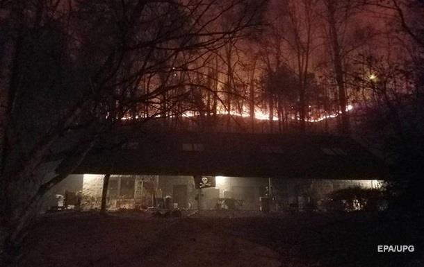 Масштабные пожары в Теннесси: число жертв растет