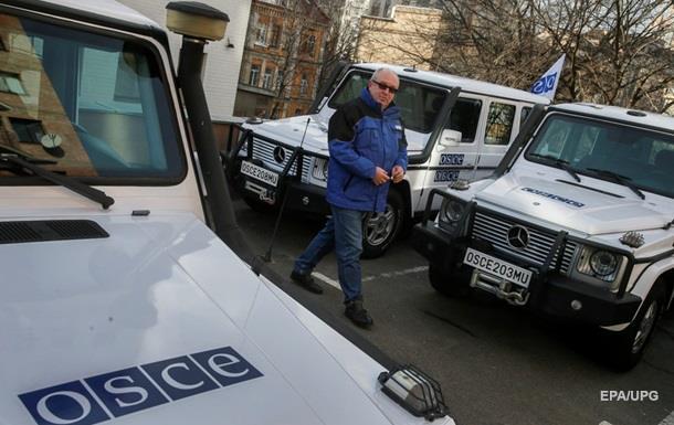 ОБСЕ снова не попала на участки разведения сил