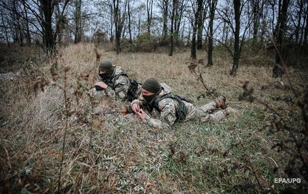 Штаб: Военный погиб на Луганщине во время атаки ДРГ