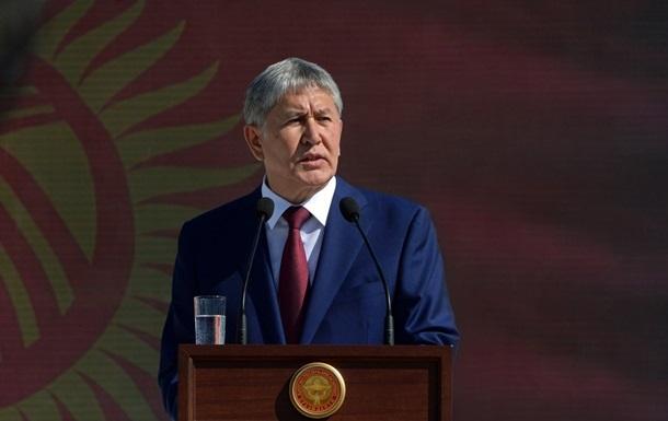 Атамбаев ушёл вбессрочный отпуск